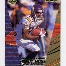 2000 Collector's Edge Supreme Football #080 Randy Moss - Minnesota Vikings