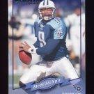 2000 Donruss Football #138 Steve McNair - Tennessee Titans