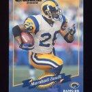 2000 Donruss Football #126 Marshall Faulk - St. Louis Rams