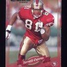 2000 Donruss Football #119 Terrell Owens - San Francisco 49ers