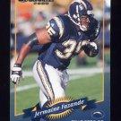 2000 Donruss Football #115 Jermaine Fazande - San Diego Chargers