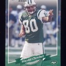 2000 Donruss Football #099 Wayne Chrebet - New York Jets