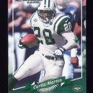 2000 Donruss Football #097 Curtis Martin - New York Jets