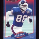 2000 Donruss Football #096 Ike Hilliard - New York Giants