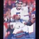 2000 Donruss Football #094 Kerry Collins - New York Giants