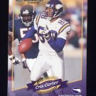 2000 Donruss Football #084 Cris Carter - Minnesota Vikings