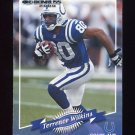 2000 Donruss Football #069 Terrence Wilkins - Indianapolis Colts
