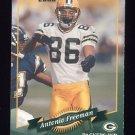 2000 Donruss Football #062 Antonio Freeman - Green Bay Packers