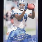 2000 Donruss Football #056 Herman Moore - Detroit Lions