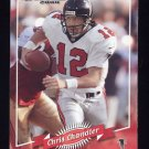 2000 Donruss Football #007 Chris Chandler - Atlanta Falcons