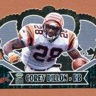 2000 Crown Royale Premiere Date #020 Corey Dillon - Cincinnati Bengals 141/145