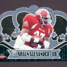2000 Crown Royale Football #109 Shaun Alexander RC - Seattle Seahawks