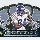2000 Crown Royale Football #057 Randy Moss - Minnesota Vikings