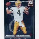 2000 Donruss Elite Football #047 Brett Favre - Green Bay Packers