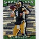2000 Finest Superstars #S12 Brett Favre - Green Bay Packers