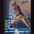 2000 Fleer Gamers Yard Chargers #05 Jerry Rice - San Francisco 49ers
