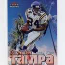 2000 Fleer Mystique Destination Tampa #10 Randy Moss - Minnesota Vikings