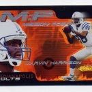 2000 Fleer Showcase Mission Possible #06 Marvin Harrison - Indianapolis Colts