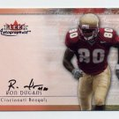 2000 Fleer Tradition Autographics #39 Ron Dugans - Cincinnati Bengals AUTO