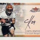 2000 Fleer Tradition Autographics #85 Curtis Keaton - Cincinnati Bengals AUTO
