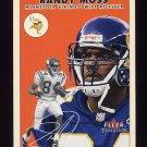 2000 Fleer Tradition Football #163 Randy Moss - Minnesota Vikings