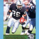 2000 Pacific Gold #275 Napoleon Kaufman - Oakland Raiders 135/199