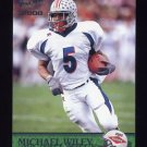 2000 Pacific Football #450 Michael Wiley RC