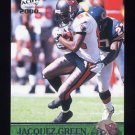 2000 Pacific Football #367 Jacquez Green - Tampa Bay Buccaneers
