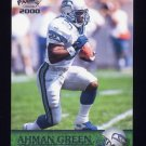 2000 Pacific Football #353 Ahman Green - Seattle Seahawks