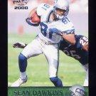 2000 Pacific Football #351 Sean Dawkins - Seattle Seahawks