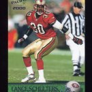 2000 Pacific Football #343 Lance Schulters - San Francisco 49ers