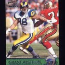 2000 Pacific Football #321 Grant Wistrom - St. Louis Rams