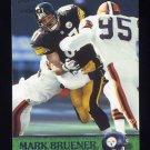2000 Pacific Football #296 Mark Bruener - Pittsburgh Steelers
