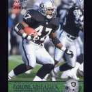 2000 Pacific Football #280 Tyrone Wheatley - Oakland Raiders