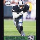 2000 Pacific Football #278 Kenny Shedd - Oakland Raiders