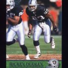 2000 Pacific Football #271 Rickey Dudley - Oakland Raiders