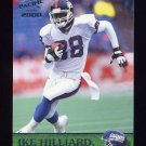 2000 Pacific Football #246 Ike Hilliard - New York Giants