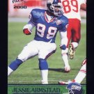 2000 Pacific Football #240 Jessie Armstead - New York Giants