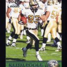 2000 Pacific Football #234 Keith Poole - New Orleans Saints
