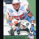 2000 Pacific Football #223 Willie McGinest - New England Patriots
