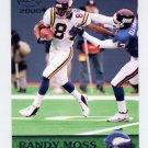 2000 Pacific Football #209 Randy Moss - Minnesota Vikings
