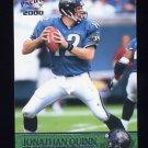 2000 Pacific Football #170 Jonathan Quinn - Jacksonville Jaguars