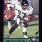 2000 Pacific Football #169 Keenan McCardell - Jacksonville Jaguars