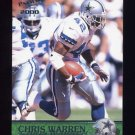 2000 Pacific Football #109 Chris Warren - Dallas Cowboys