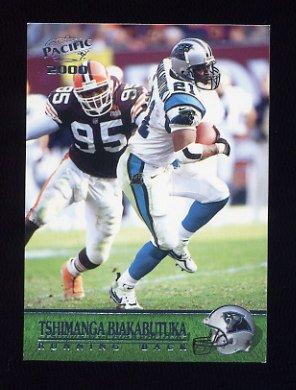 7175bd1ea 2000 Pacific Football  051 Tim Biakabutuka - Carolina Panthers