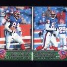 2000 Pacific Football #048 Bobby Collins / Sheldon Jackson - Buffalo Bills