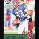 2000 Pacific Football #042 Andre Reed - Buffalo Bills