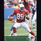 2000 Pacific Football #002 David Boston - Arizona Cardinals