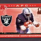 2000 Pacific Omega AFC Conference Contenders #13 Tim Brown - Oakland Raiders