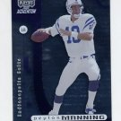 2000 Playoff Momentum Football #042 Peyton Manning - Indianapolis Colts